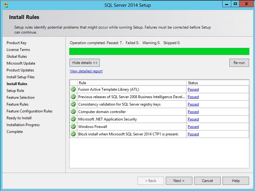 Install and configure Reporting Services 2014 for SharePoint 2013 (3/6)