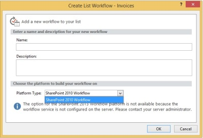Workflow Manager - not installed