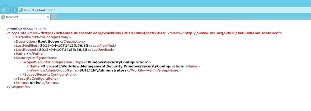 Install and configure SharePoint 2013 Workflow (6/6)